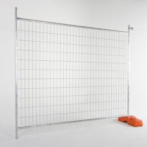 10X (Temporary Fencing, Concrete Base, Clamps) Package